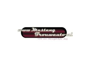 logo mustang trouwauto